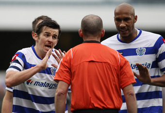 Joey Barton (left) pleads his case, again.
