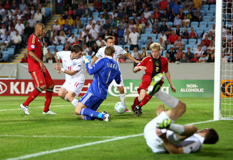 England reached the 2009 European U-21 final, where they lost 4-0 to a strong German side