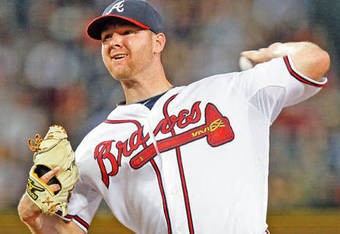 Jonny Venters led MLB with 85 appearances in 2011.