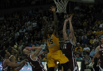 DeAndre Nealy set a school record, blocking 75 shots in a single season.
