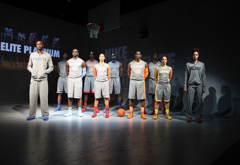Nike's new Hyper Elite Uniforms are presented like high fashion.