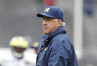 Greg Mattison, DC at Michigan and a lead recruiter for the Wolverines.