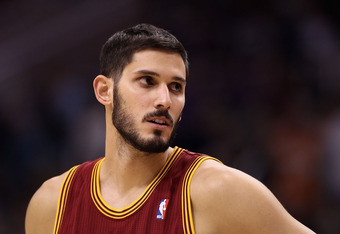 PHOENIX, AZ - JANUARY 12:  Omri Casspi #36 of the Cleveland Cavaliers in action during the NBA game against the Phoenix Suns at US Airways Center on January 12, 2012 in Phoenix, Arizona.  NOTE TO USER: User expressly acknowledges and agrees that, by downl