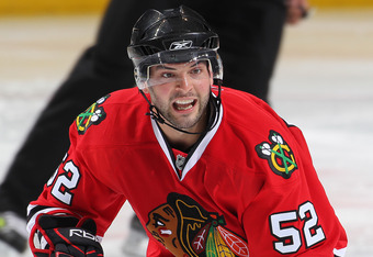 Brandon Bollig made his NHL debut this week.