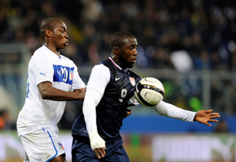 Jozy Altidore provided good hold up play for the USMNT against Italy.