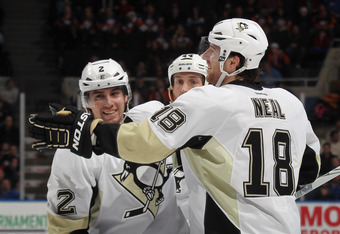 The Penguins acquired Neal and Niskanen at last year's deadline. Neal's $30mm contract extension is as close as Shero came to making a deadline splash this year