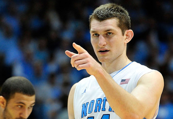 Tyler Zeller has been solid as a rock for UNC all year and is a favorite to win ACC Player of the Year honors.