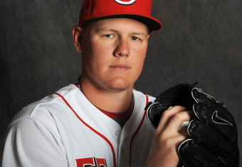 Reds acquired pitcher, Mat Latos via trade in the offseason