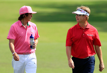 David Toms beat Rickie Fowler in the first round of the WGC-Accenture Match Play.