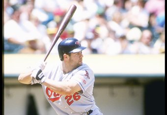 Pete Incaviglia in 1997 shortly before he was signed by the Yankees.
