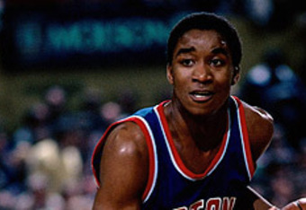 The Pistons got it right in 1981 when they immediately installed rookie Thomas as their starting point guard.