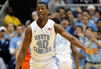 CHAPEL HILL, NC - FEBRUARY 18:  Harrison Barnes #40 of the North Carolina Tar Heels during their game at Dean Smith Center on February 18, 2012 in Chapel Hill, North Carolina.  (Photo by Streeter Lecka/Getty Images)