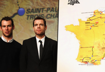 Mark Cavendish and Cadel Evans head to this week's Tirreno-Adriatico with July's Tour de France well in-mind.