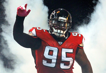 Jonathan Babineaux could be cut with his cap number, but it's very unlikely.