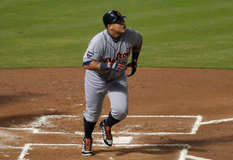 Miguel Cabrera, one of the league's best sluggers.