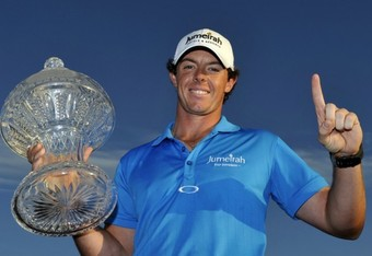 Rory McIIroy held off that Tiger.