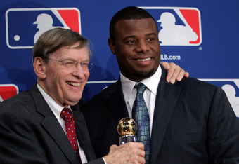 Ken Griffey Jr. is in good standing with MLB and commissioner Bud Selig