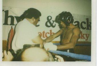 Howard Davis Sr. and Howard Davis Jr. (Photo Courtesy of Fight Time Promotions and KGC Marketing)