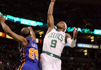 Rajon Rondo posted a historic triple-double against the Knicks.