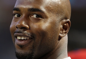 PHOENIX, AZ - APRIL 25:  Jimmy Rollins #11 of the Philadelphia Phillies smiles in the dugout during the Major League Baseball game against the Arizona Diamondbacks at Chase Field on April 25, 2011 in Phoenix, Arizona.  (Photo by Christian Petersen/Getty I