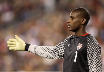 Bill Hamid may still be young, especially for a goalkeeper, but it's no secret he's the future goalkeeper for the USMNT and expect Klinsmann to give him World Cup experience.