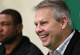 Ainge's quotes are filled with inconsistency.