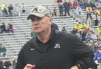 Rich Ellerson in fourth season at Army (K.Kraetzer)
