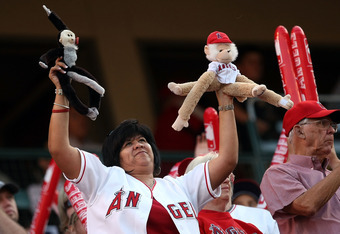 Fans loved them some Rally Monkey!!!