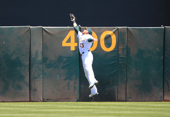 Sweeney is also known as an excellent defensive outfielder.