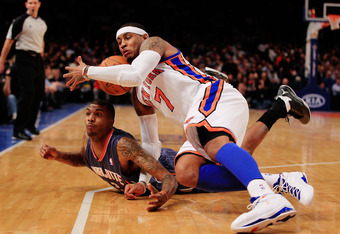 What happened to Carmelo Anthony?