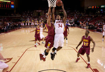 Iona's signature road win was at Denver