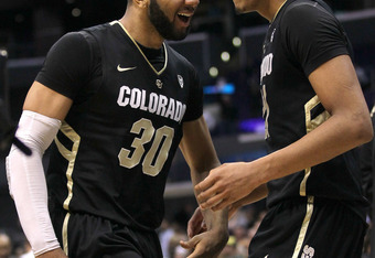 Carlon Brown (left) and Andre Roberson led Colorado to an unexpexted NCAA tournament berth