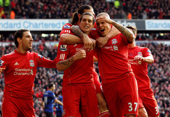 Agger and Skrtel at the heart of Liverpool's defence