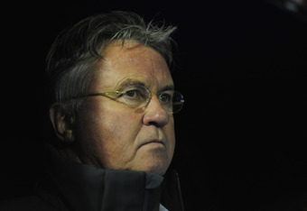 Anzhi manager Guus Hiddink