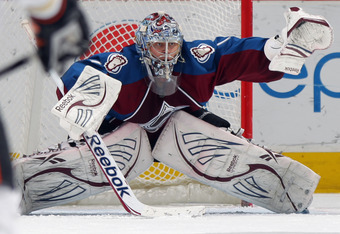Semyon Varlamov made 38 saves in the victory over the Ducks
