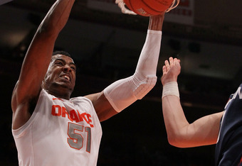 With Fab Melo out, don't pick Syracuse to go too far.