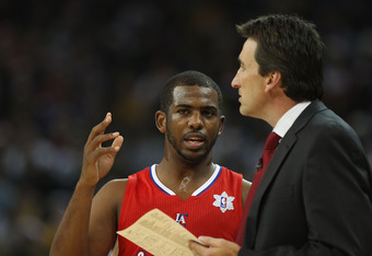 Chris Paul has to be the coach on the floor and the best player.
