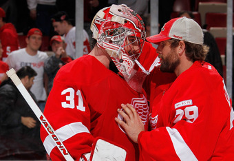 Since Jimmy Howard's injury-riddled February, Detroit's goaltending situation has been uncertain until Joey MacDonald grabbed the net from former back-up Ty Conklin