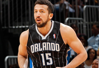 Hedo Turkoglu is one of several long range threats the Magic have on their roster.