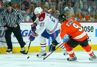 Three seasons since Alex Kovalev scored 30 for Montreal