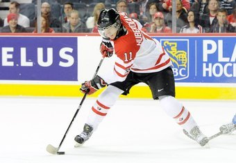 Jonathan Huberdeau at the WJC