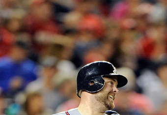 Atlanta Braves catcher Brian McCann is ranked as one of the top-three at his position in the MLB