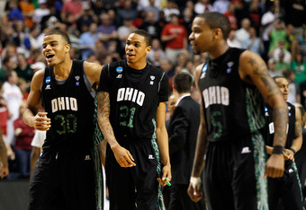 The Ohio Bobacts beat the University of South Florida Bulls to earn a spot in the Sweet Sixteen.
