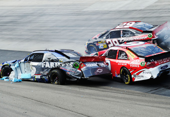 Bristol took a chunk out of Kahne's confidence, as well as his car