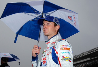 A dark cloud has hung over Kasey Kahne so far in 2012