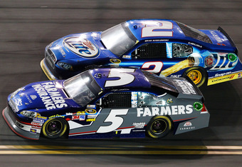The big difference between Keselowski and Kahne this season? Brad hasn't beaten himself