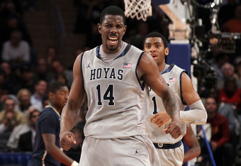 Henry Sims went from wasted talent to fringe NBA draft prospect this season, under JTIII's watch.