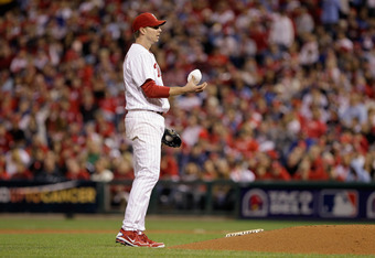 It was an impressive performance just to keep the Phills' offense in the game in Game 5 of the 2011 NLDS