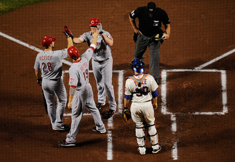 Reds fans hope to see this frequently in 2012