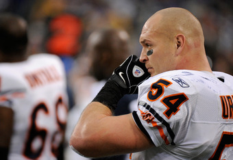 The Bears should target a player in the mid-rounds that can eventually replace Brian Urlacher.